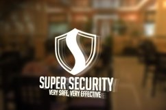 Security S Letter Logo Product Image 1