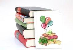 Graduation Watercolor Clipart Product Image 3