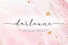 Darloune | An Elegant Calligraphy Product Image 1