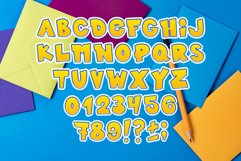 Kids font / handmade font / children's color font. Product Image 3
