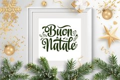 Buon Natale svg Italian Christmas Around the World Product Image 6