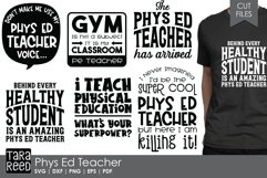 Phys Ed Teacher - School SVG and Cut Files for Crafters Product Image 1