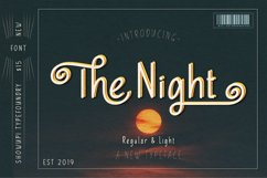 The Night Typeface Product Image 1
