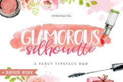 Glamorous Silhouette Font Product Image 1