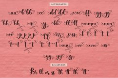 Simply Styled, a flourished ornamental script font Product Image 4