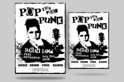 Pop Punk Flyer Product Image 1