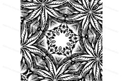 A collection of square hand-drawn patterns Product Image 5