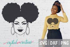 Afro Bundle 5 Different files SVG, DXF, PNG, Afro svg Product Image 3