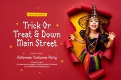 Halloween Mascots - Spooky and Playful Display Typeface Product Image 2