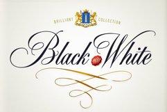 Black & White - premium quality font Product Image 1