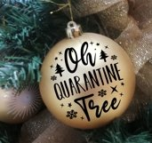 Covid Christmas Ornaments SVG PNG DXF Product Image 2