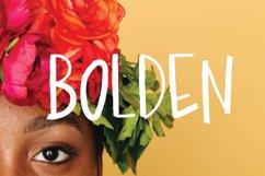 Bolden | Sans Serif Font Product Image 1
