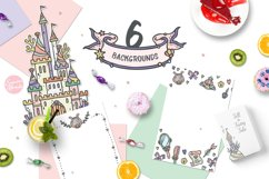 Mermaid Princess - Cute Summer Girl Clipart Product Image 6