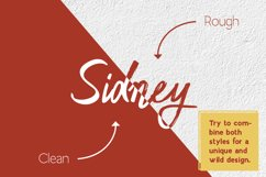 Sidney - clean & rough Product Image 4