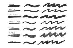 Procreate Lettering 34 Brush Bundle Product Image 3