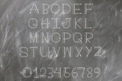 Teacher Monogram Font Product Image 4
