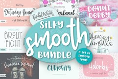 Silky Smooth Font Bundle Product Image 1
