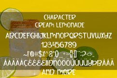 Cream lemonade Product Image 4