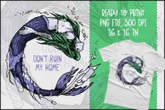 Save Mermaids T-shirt Design, Mermaid Sublimation PNG Product Image 1