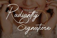 Radiantly Signature - Handwriting Signature Font Product Image 1