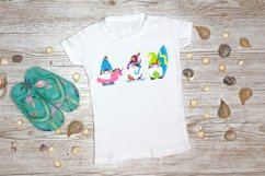 Sublimation Designs For T Shirts Summer Gnomes   Beach Gnome Product Image 2