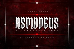 Asmodeus - Blackletter Product Image 1