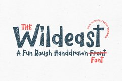The Wildeast Font Product Image 1