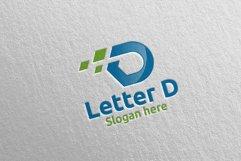 Letter D Digital Marketing Financial Logo 59 Product Image 3