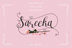 Sareeka Script Product Image 1