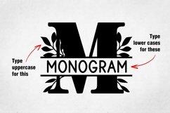 Bogi Split Monogram Font Product Image 6