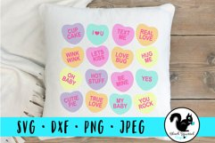 Pink V-Day Truck and Individual Conversation Hearts Sayings Product Image 3