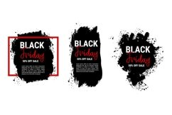 Collection of black friday sale banners Product Image 1