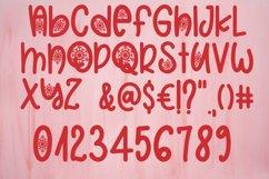 Christmas Snowflakes Font Product Image 6