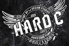 Hard C 2 FONTS Product Image 1