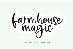 Farmhouse Magic - A Handwritten Script Font Product Image 1
