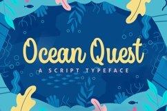 Web Font Ocean Quest Product Image 1