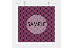 Pink and Black Digital Paper - Bohemian Product Image 4