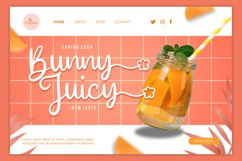 Web Font - Melly Honney Product Image 5