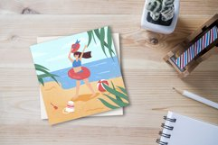 Girl on the beach Product Image 1