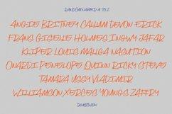 Deustchen Marker Handwriting Script Font Product Image 10
