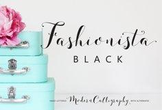 Fashionista Black Product Image 1
