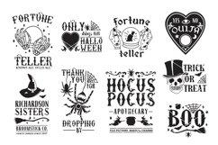 Vintage Halloween Sign Making SVG Bundle Product Image 2