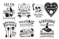 Vintage Halloween Sign Making SVG Bundle Product Image 4