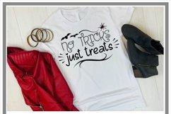 No Tricks Just Treats Halloween SVG Product Image 2