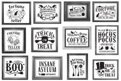 Vintage Halloween Sign Making SVG Bundle Product Image 5