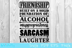 Friendship SVG DXF EPS Built on the Foundations Of SVG Product Image 2