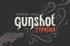 Gunshot typeface Product Image 1