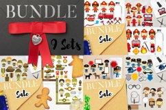 Kids clip art - Graphics and Illustrations Huge Bundle Product Image 5
