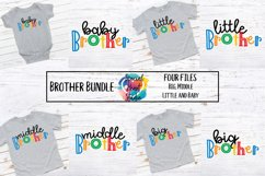 Brother Bundle - A set of brother sibling SVG designs Product Image 1
