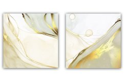 Abstract Alcohol Ink Gold Backgrounds Product Image 4